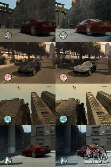 Gráficos melhorados para GTA 4