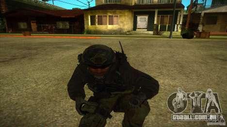 Sandman para GTA San Andreas quinto tela