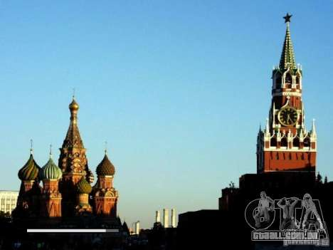Tela de boot Moscou para GTA San Andreas terceira tela