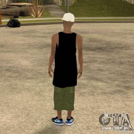 Cone Crew Skin para GTA San Andreas por diante tela