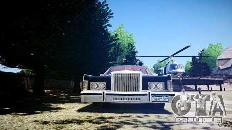 Lincoln Continental Town Coupe v1.0 1979 [EPM] para GTA 4 motor
