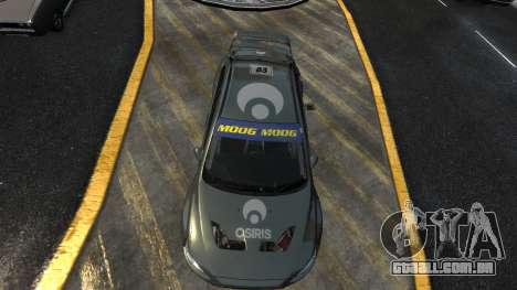 Mitsubishi Lancer Evolution para GTA 4 esquerda vista