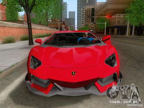 Alarme Mod v3.0 para GTA San Andreas segunda tela