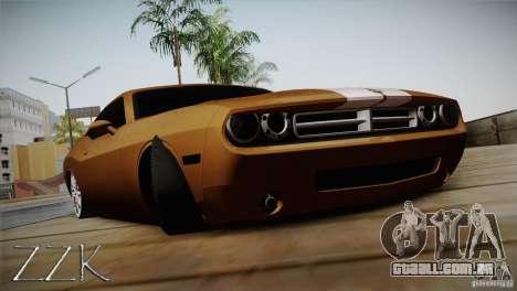 Dodge Challenger Socado Com Rotiform FIXA para GTA San Andreas
