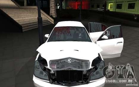 Car crash from GTA IV para GTA San Andreas segunda tela