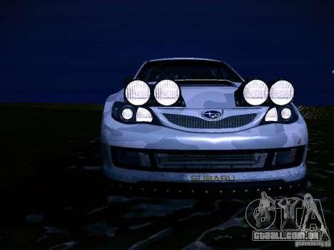 Subaru Impreza WRX STi N14 Rallycross para GTA San Andreas vista inferior
