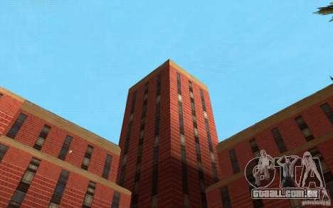 Novas texturas para o hospital em Los Santos para GTA San Andreas décima primeira imagem de tela
