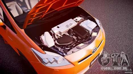 Toyota Prius 2011 para GTA 4 vista interior
