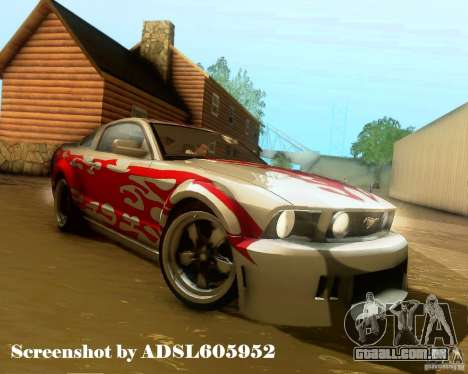 Ford Mustang GT 2005 Tunable para as rodas de GTA San Andreas