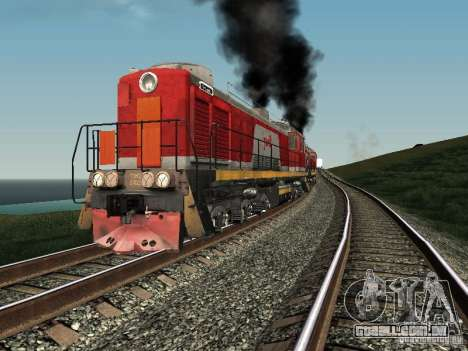 RZD Tem2-6883 para GTA San Andreas