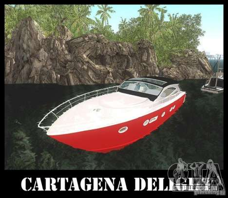 Cartagena Delight para GTA San Andreas