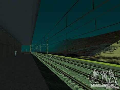 Linha ferroviária de alta velocidade para GTA San Andreas sétima tela