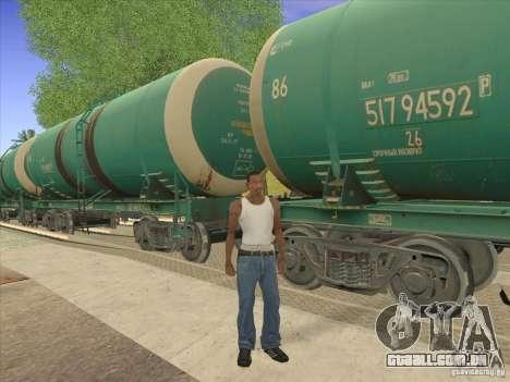 N. º 517 94592 do tanque para vista lateral GTA San Andreas