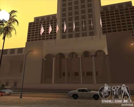 Novas texturas da prefeitura para GTA San Andreas