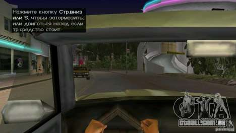 Ver os do táxi para GTA Vice City