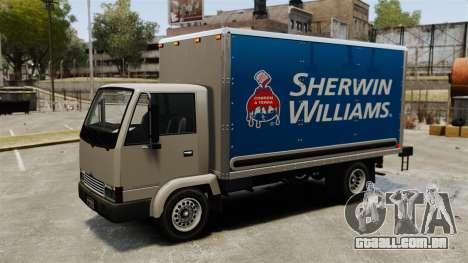 Novos anúncios para o caminhão, mula para GTA 4 vista de volta