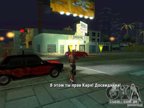 Killer Mod para GTA San Andreas décimo tela