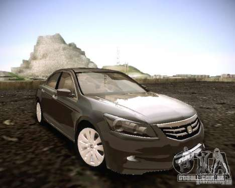 Honda Accord 2011 para GTA San Andreas vista direita