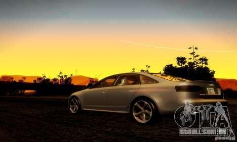 Audi RS6 TT para GTA San Andreas vista direita
