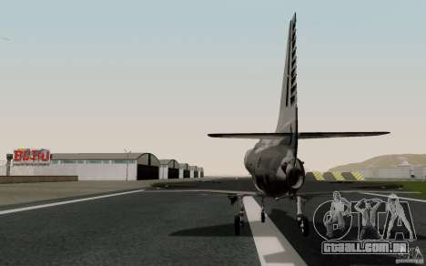 McDonnell Douglas A-4AR Fightinghawk para GTA San Andreas esquerda vista
