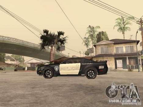 Saleen S281 2007 Barricade para GTA San Andreas esquerda vista