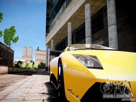 Lamborghini Murcielago LP650-4 Roadster para GTA 4 traseira esquerda vista