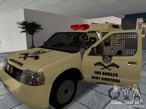Nissan Terrano LARC para GTA San Andreas vista direita