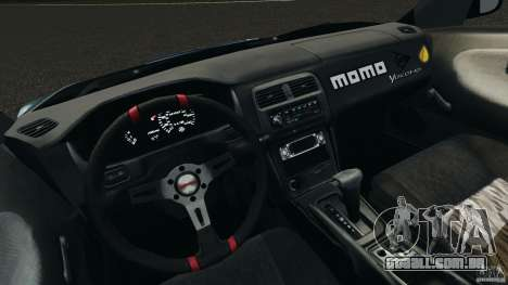 Nissan 240SX Time Attack para GTA 4 vista de volta