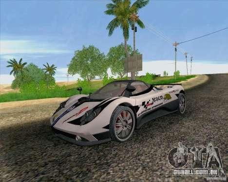 Pagani Zonda F v2 para GTA San Andreas