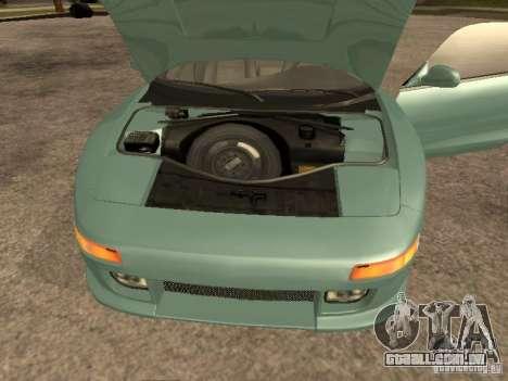 Toyota MR2 1994 TRD para GTA San Andreas traseira esquerda vista
