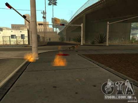 Armas nacional-versão 1.5 para GTA San Andreas por diante tela
