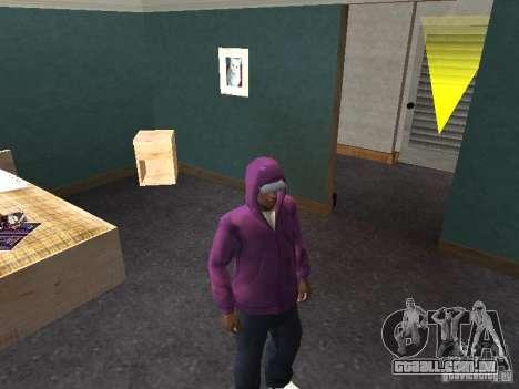 Hood para GTA San Andreas por diante tela
