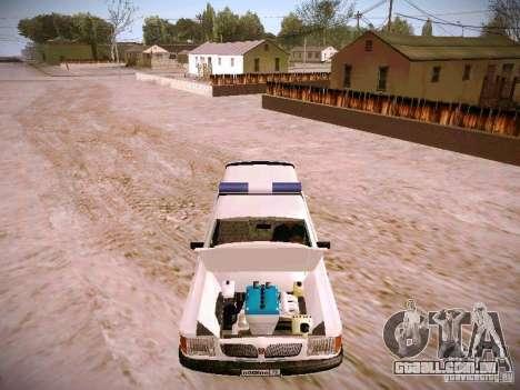GÁS 310231 urgente para GTA San Andreas vista interior