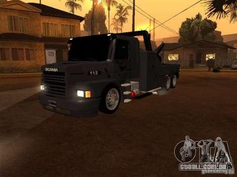 Scania 112H Gruas Fenix para GTA San Andreas