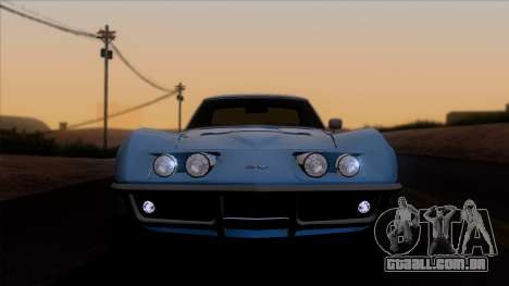 Chevrolet Corvette C3 Stingray T-Top 1969 v1.1 para GTA San Andreas