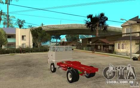 Dac 444 T para GTA San Andreas traseira esquerda vista