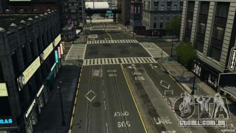 Cidade vazia para GTA 4