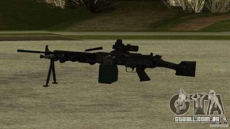 M240 para GTA San Andreas segunda tela