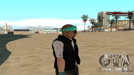 Skin Pack The Rifa Gang HD para GTA San Andreas sétima tela