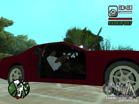 Elegia de Tops conversíveis para GTA San Andreas vista inferior