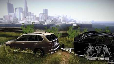 BEAM X5 Trailer para GTA San Andreas vista direita