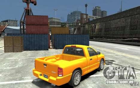 Dodge Ram SRT-10 v.1.0 para GTA 4 vista direita