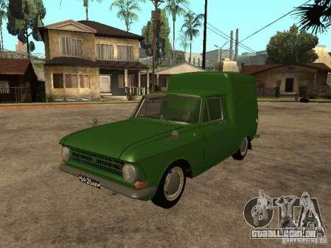 Versão inicial IZH 2715 para GTA San Andreas