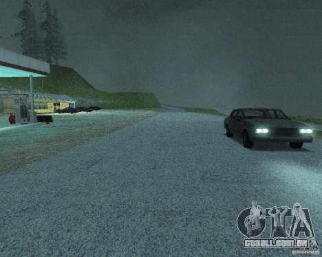 Novas estradas em San Fierro para GTA San Andreas décimo tela