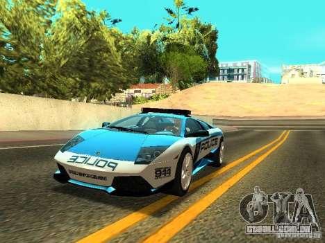 Lamborghini Murcielago LP640 Police V1.0 para GTA San Andreas