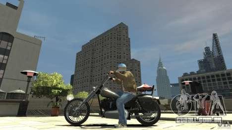 Zombie Bike Paintjob para GTA 4 esquerda vista