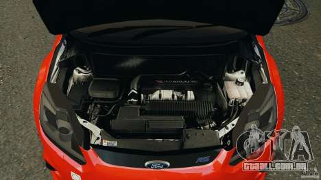 Ford Focus RS para GTA 4 vista superior