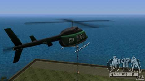 FBI Maverick para GTA Vice City deixou vista