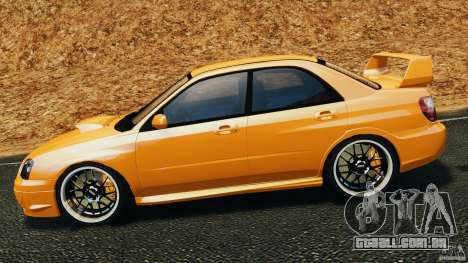 Subaru Impreza WRX STI 2005 para GTA 4 esquerda vista
