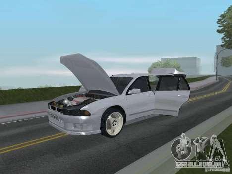 Mitsubishi Legnum para GTA San Andreas vista interior